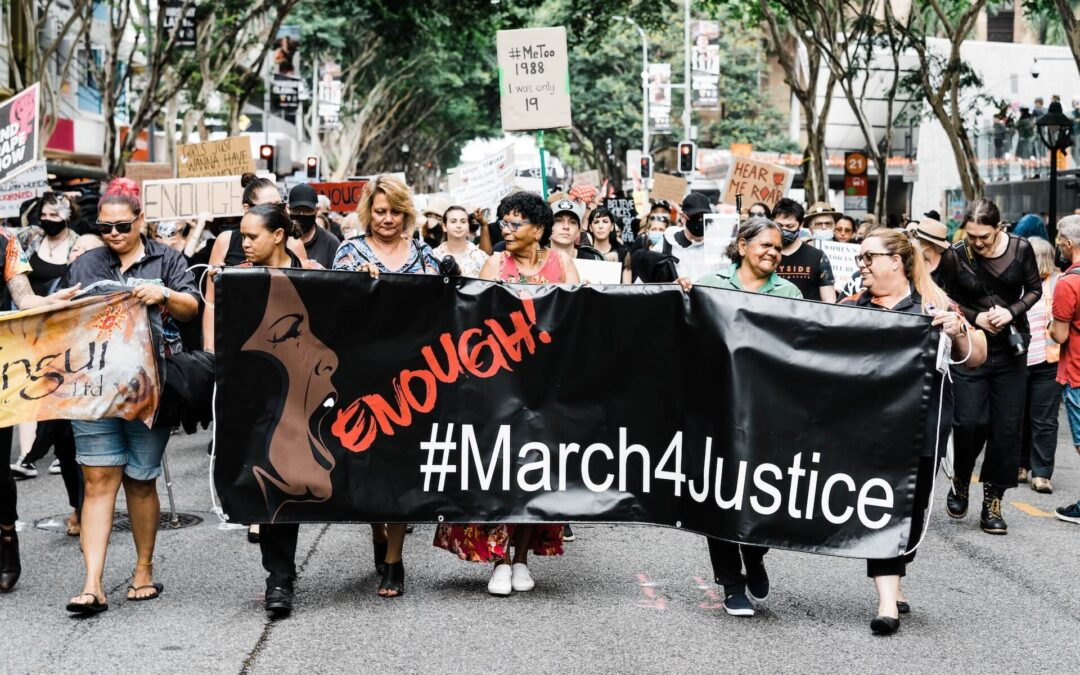 Angry women – a powerful force for change